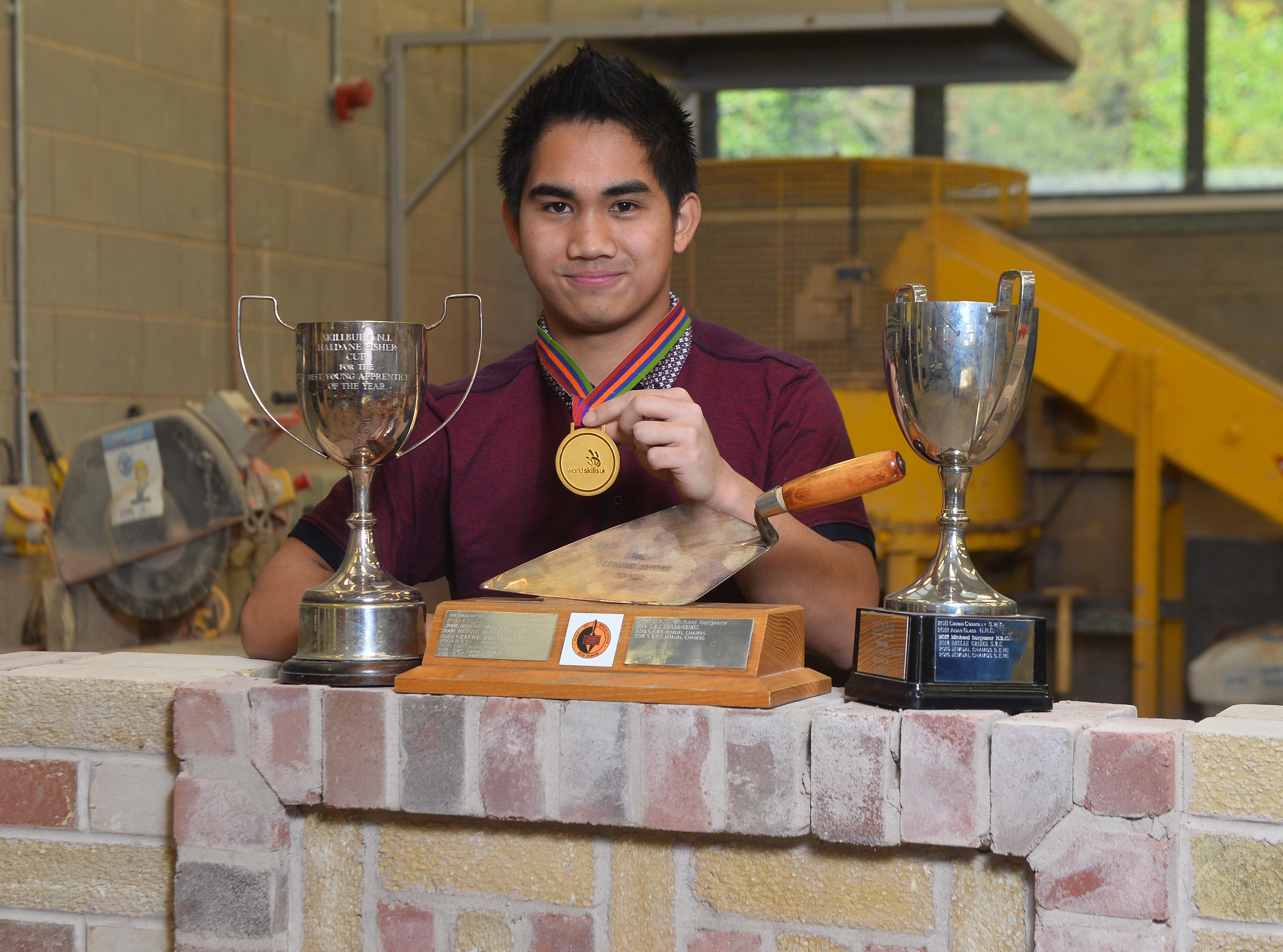 Bricklaying Uk's National Worldskills