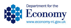 Image of the department for the economy logo